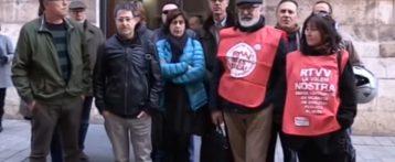 """El Comitè d'empresa de RTVV afirma que la sentència ha sigut """"un mazazo"""""""