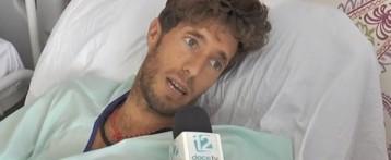 Manuel Escribano recibe el alta tras ocho días hospitalizado y habla con un equipo de 12TV