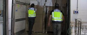 Desarticulada en Alicante una banda que creaba empresas ficticias de transporte para robar mercancía