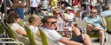 Los turistas extranjeros gastan 3.034 millones en la Comunitat