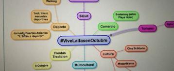 L'Alfàs se promociona en las redes sociales con la campaña #ViveLalfasenOctubre